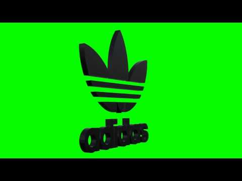 adidas logo black chroma