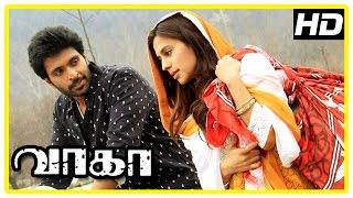 Wagah Tamil Movie | Love Scenes | Vikram Prabhu | Ranya Rao | Karunas | D Imman |