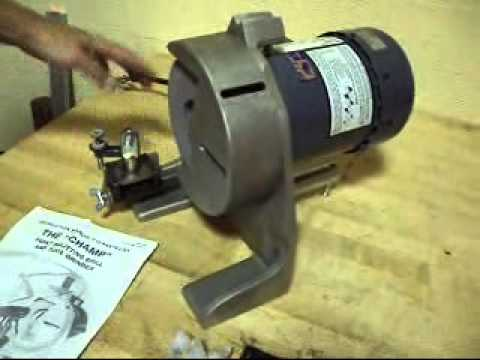 CHAMP 4 TOOL & DRILL GRINDER