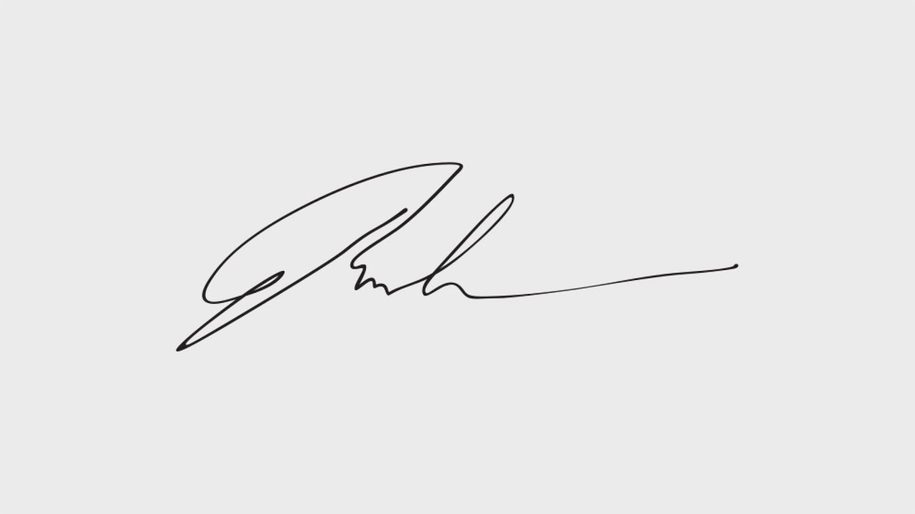 How to scan your signature
