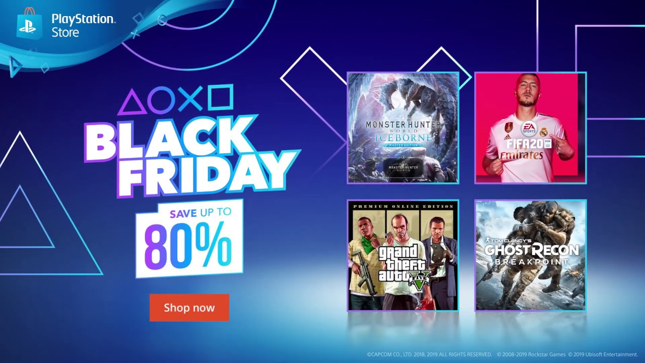 Black Friday Playstation Store Youtube
