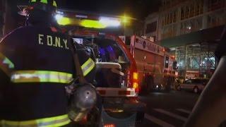 Eyewitness Describes Scene of NYC Explosion