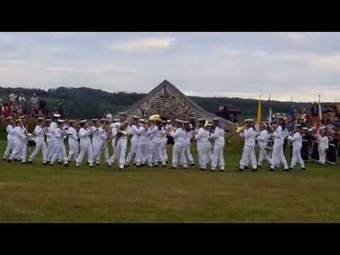 July 31, 2016 HMCS Acadia Cadet Sun Ceremony at Fort Anne, Annapolis Royal