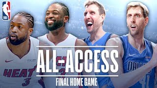 Dwyane Wade and Dirk Nowitzki's Final Home Game