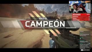 Mi primera victoria en Apex Legends | Nuevo Battle Royale