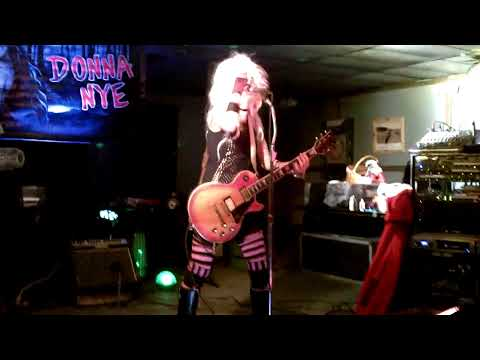 (Donna As A Peroxide Blonde) RUN YOUR FINGERS THROUGH MY HAIR!!! - DONNA NYE BAND '13