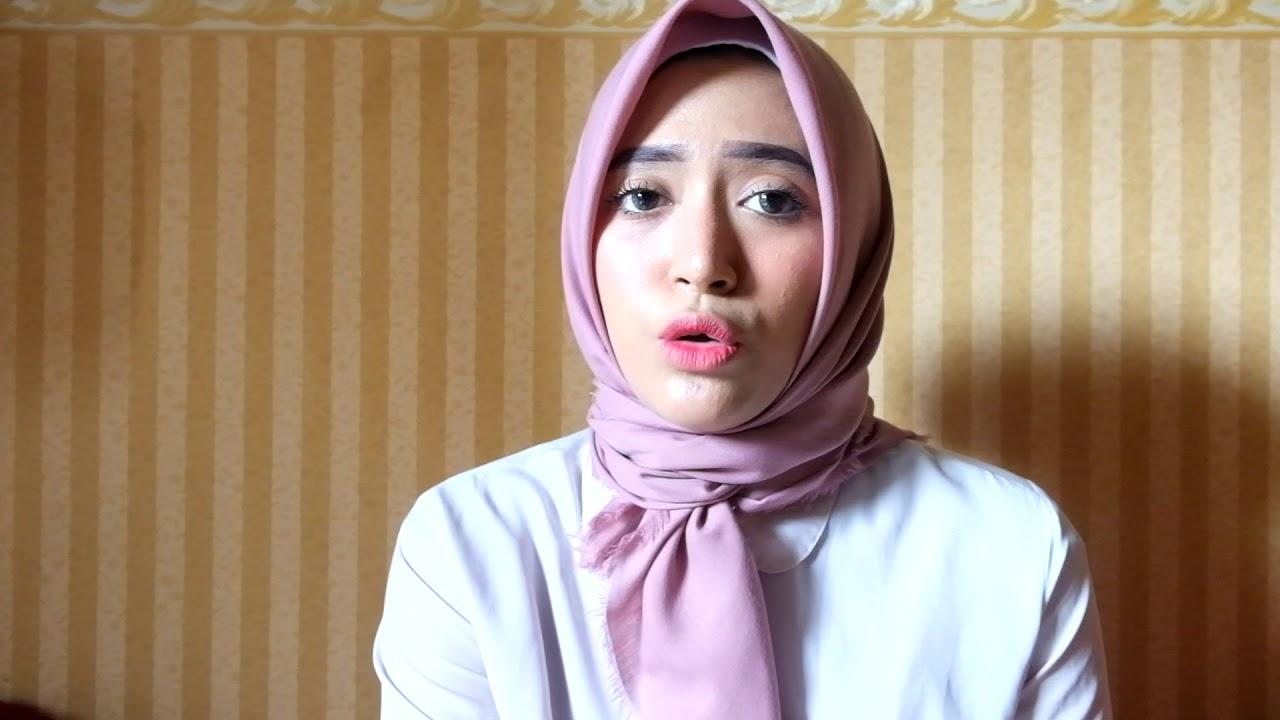 Hijab Tutorial Segiempat - Simple - YouTube