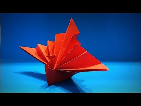 Origami Birds | How to Make a Paper Peacock (Paper Bird) DIY - Easy Origami ART