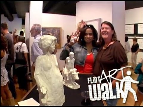 Flint Art Walk: Making friends for galleries and for downtown