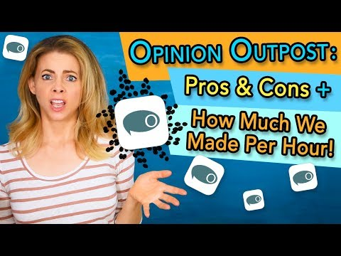 Opinion Outpost Review | How Much We Made Per Hour Taking Online Surveys on Opinion Outpost