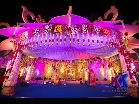 """ Lotus Theme ""  Traditional Mandap Decorations By KKEvents Management"