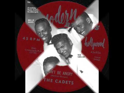 Cadets - Don't Be Angry / I Cry - Modern 956- 4/55