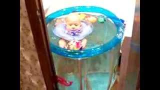 Водный баскетбол в комнатном бассейне. 5:0