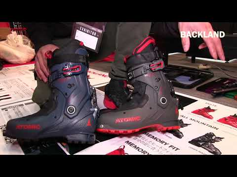 1920 ATOMICスキーを解説 | BACKLAND BOOTS | JAPAN SNOW EXPO 2019