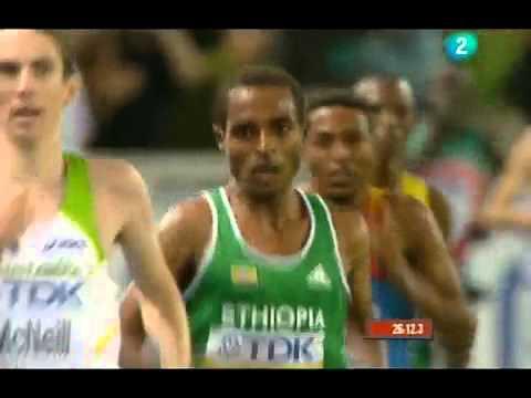 Kenenisa Bekele final 10Km Berlin