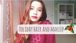 Holiday Hair & Makeup ❆ Thumbnail
