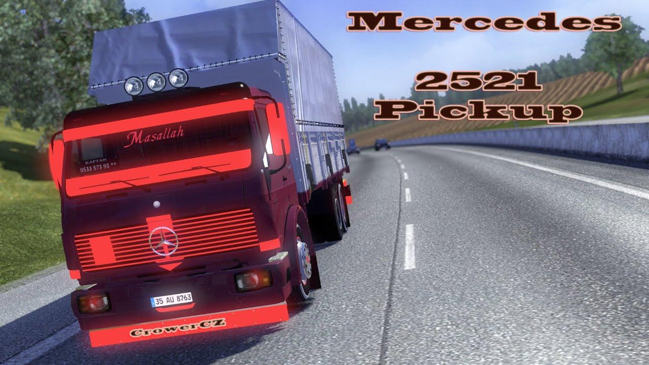 Mercedes 2521 Pickup