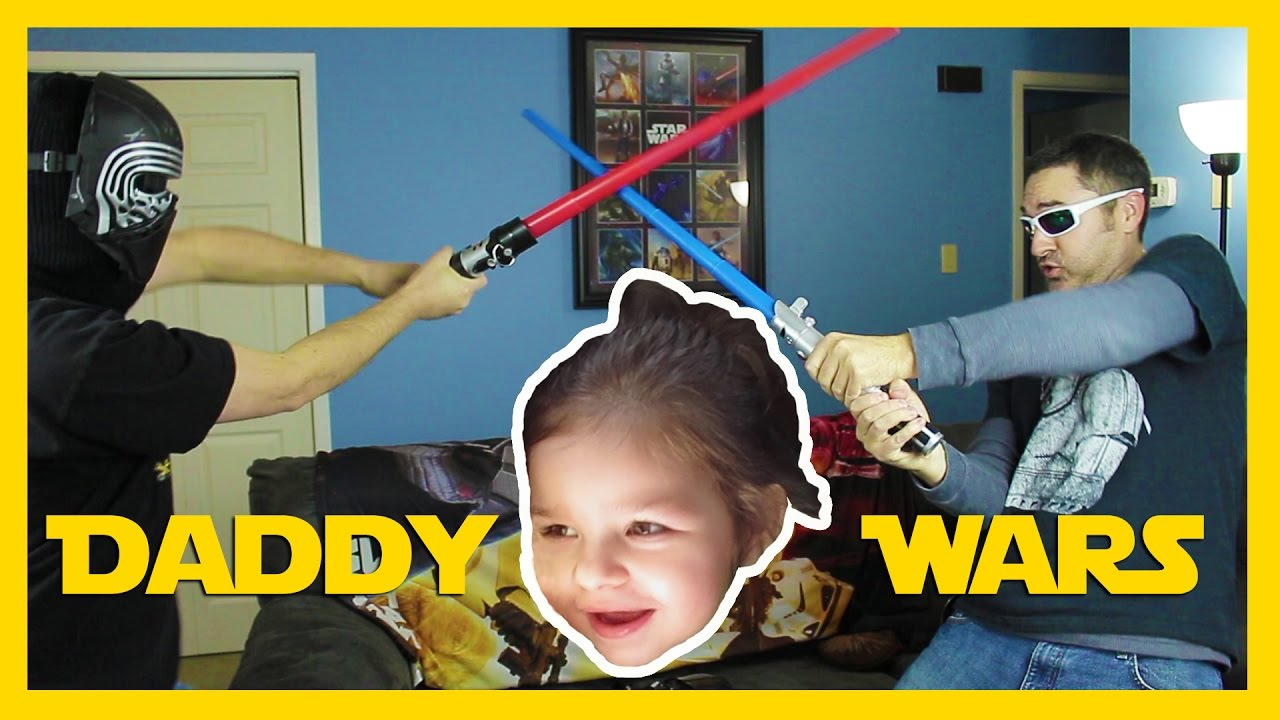 HER DAD IS A BIG GEEK Family Fun Vlog YouTube - Dad entertains 5 kids