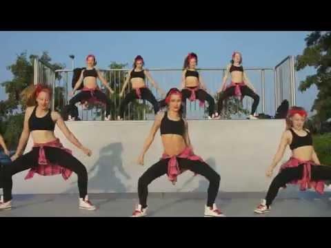 Giants dansschool vzw: Wiggle door Mini Giants voor MnM wedstrijd - choreografie - jason derulo