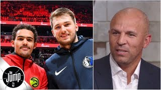 Jason Kidd explains how Trae Young-Luka Doncic ROY race is like Kidd vs. Grant Hill   The Jump