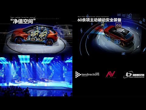 Augmented Reality Show - FAW VW T-Roc