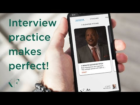 Can an App Help Prepare You for a Job Interview? YES!