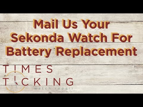 Sekonda Watch Battery Replacement
