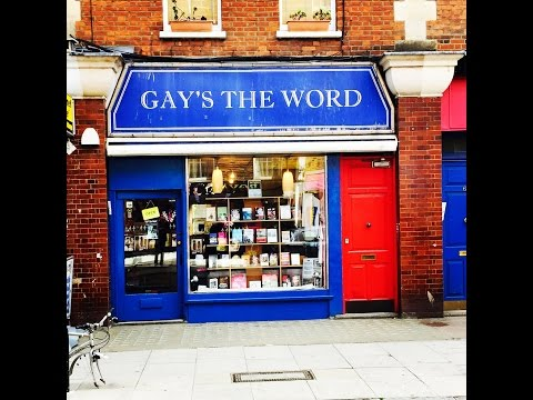 'Gay's The Word' London Bookstore Interview - Jim McSweeney
