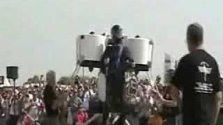 Jet pack flown at air show thumbnail