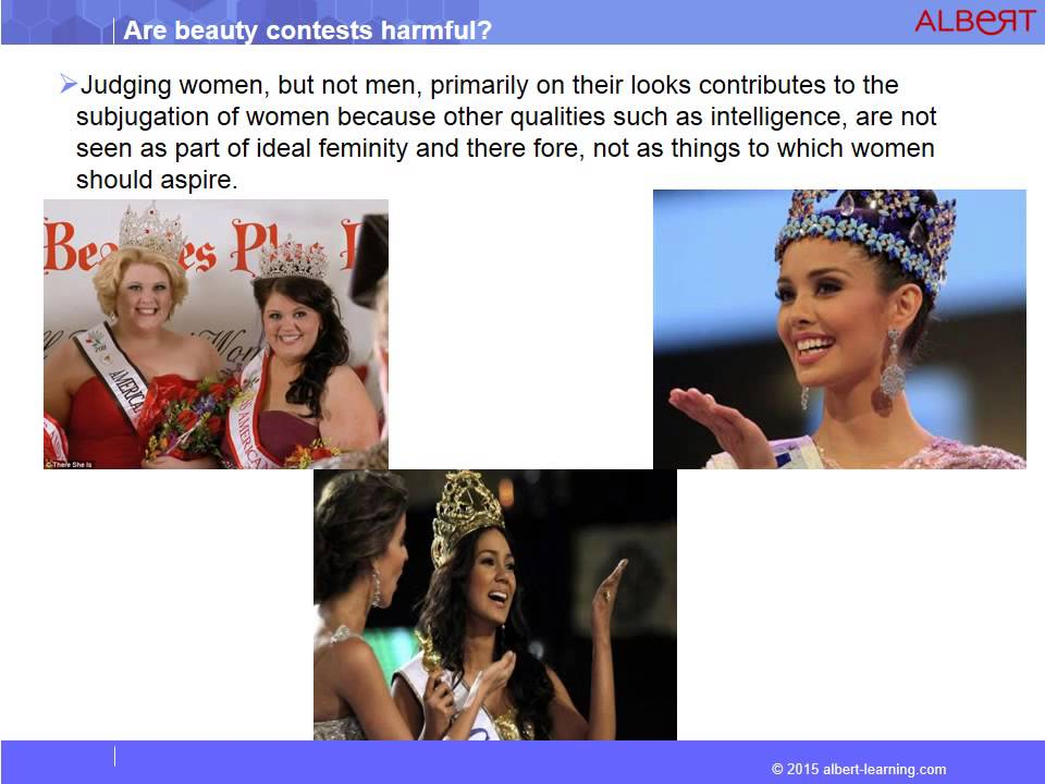 arguments for beauty pageants