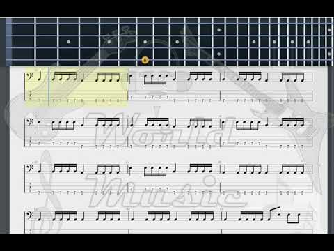 Green Day Platypus I Hate You BASS GUITAR TAB - YouTube