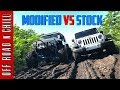 How Good is your Stock Jeep WranglerJK? | Modified Wrangler vs Stock Wrangler Mudding