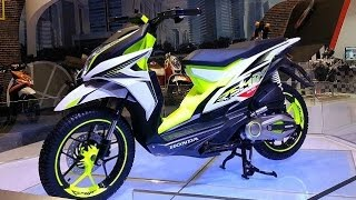 Honda Remix, motor cross matic konsep, pesaing Yamaha X-Ride