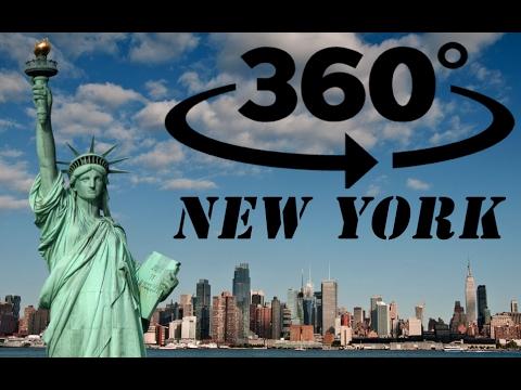 360 New York Bike Tour in 4K