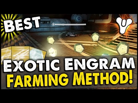 Destiny Best Exotic Engram Farming Method On Dreadnaugh