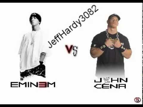 EMINEM Vs John Cena (Not Afraid + Link mp3 )