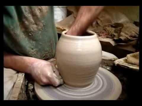 Уроки на гончарном круге видео