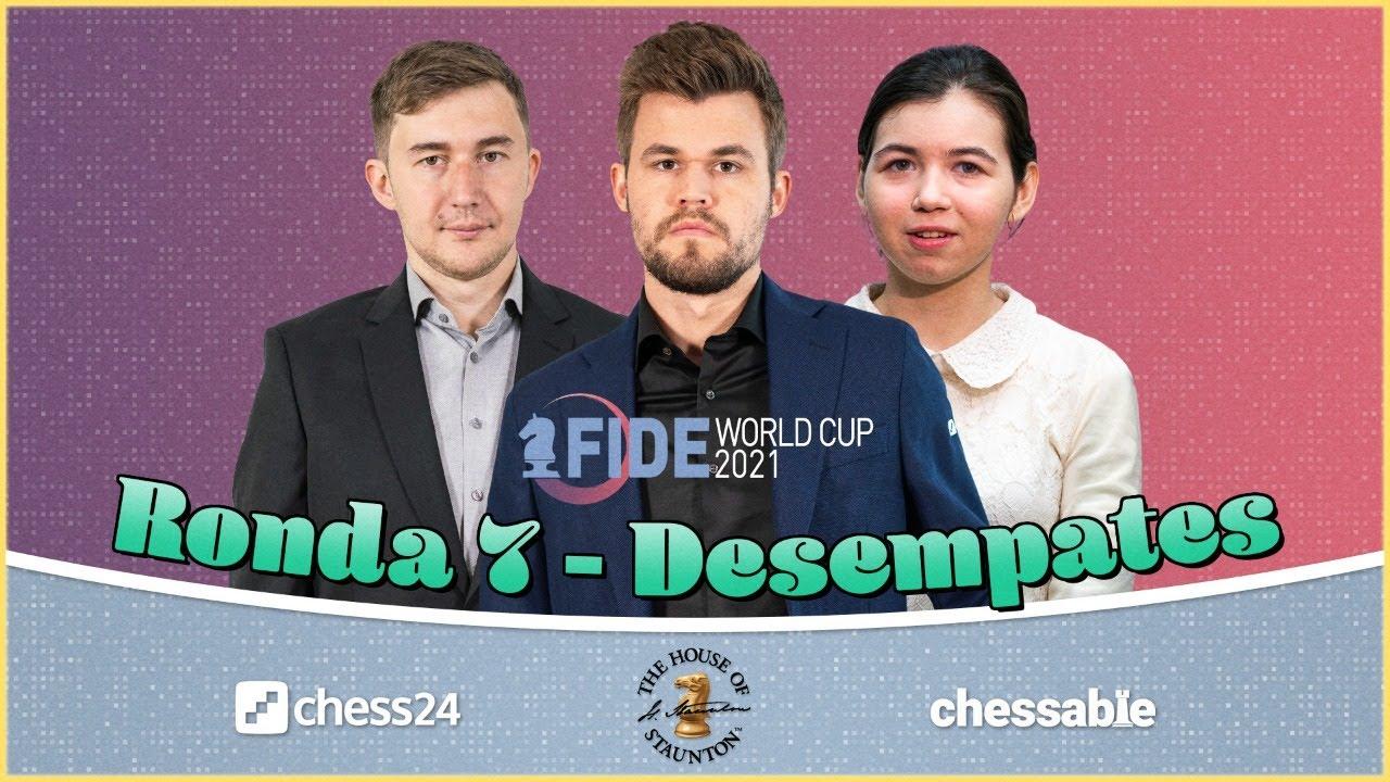 COPA DEL MUNDO 2021│SEMIFINALES (Desempates) Duda vs Carlsen