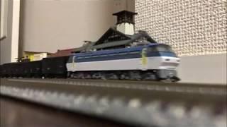 Nゲージ仮想列車 ~黒貨車回送が終わらない~