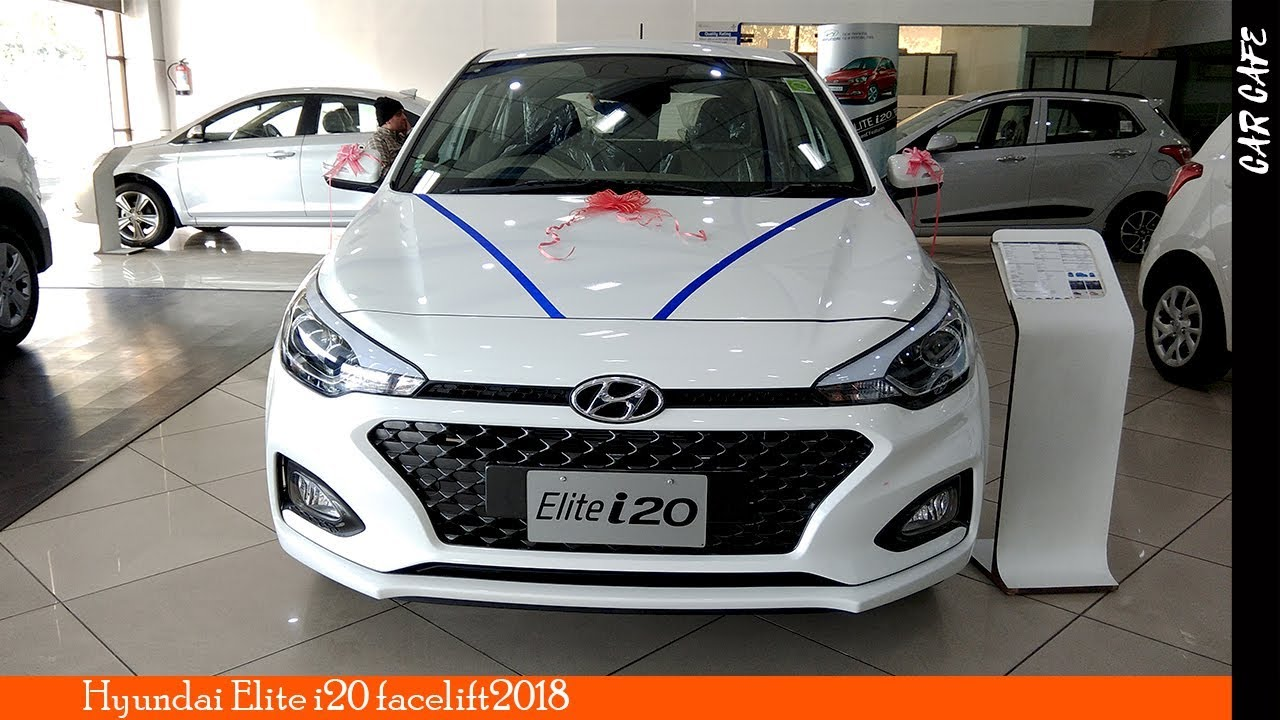 Hyundai Elite I20 2018 Facelift Hindi Review
