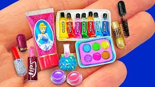 Download 67 DIY MINIATURE IDEAS for BARBIE ~ BIG MAKEUP COLLECTION, BARBIE HACKS and more! Mp3 and Videos