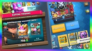 Enorme pack opening offre spÉcial des fripons clash royale
