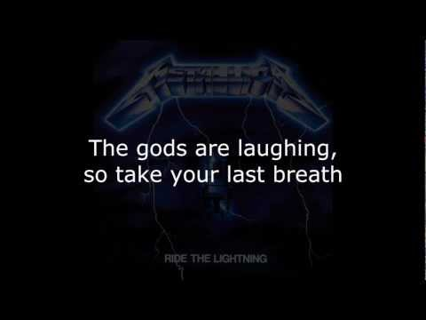 Metallica - Fight Fire With Fire Lyrics (HD)