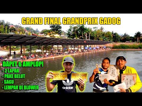 FINAL GRANDPRIX JUARA 4 DI PEMANCINGAN TIRTA GADOG FISHING CLUB!!