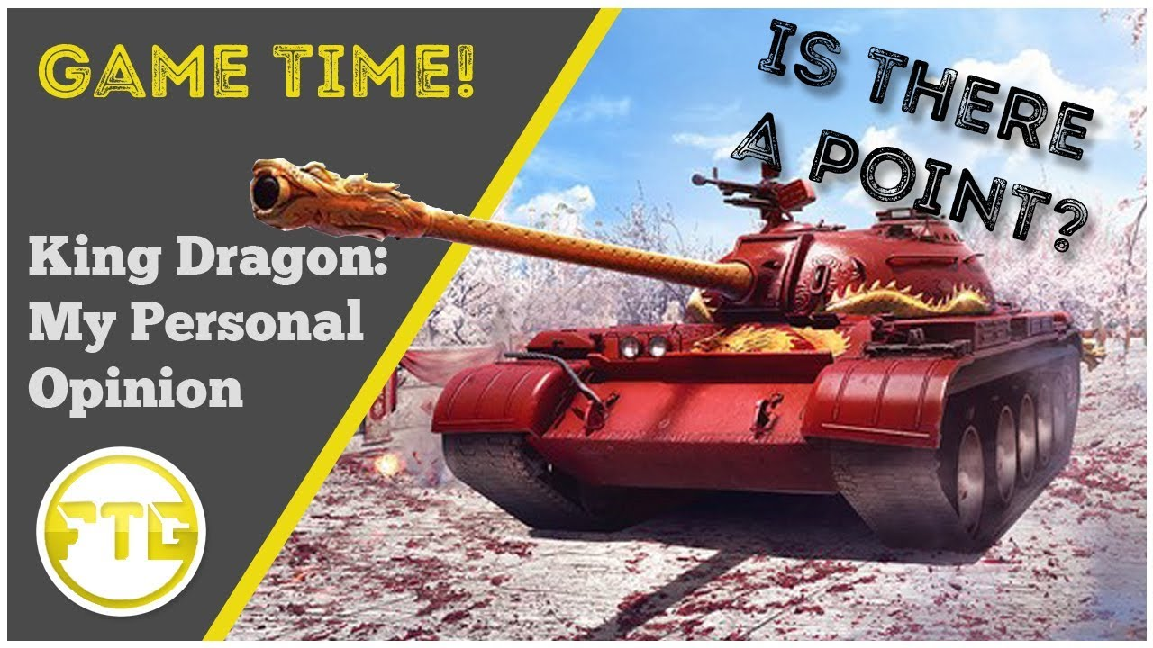 World Of Tanks Console - King Dragon - My Personal Opinion