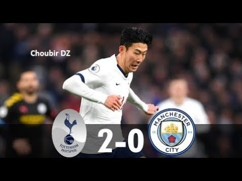 Tottenham Vs Man City 2 0 Premier League 02 02 2020 Youtube