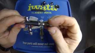 airbrush quick tips how to clean and pull apart a hp cn neo for iwata airbrush