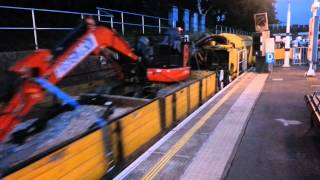 Schoma Diesel Locomotives depart South Ealing