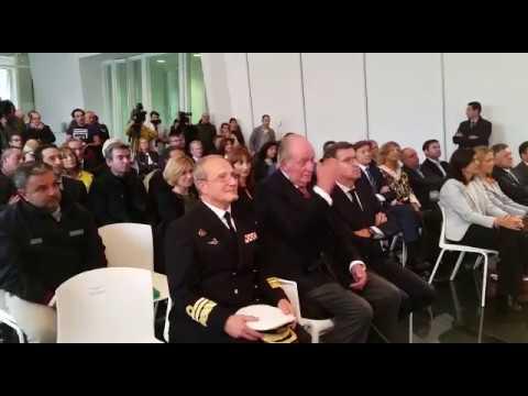 El rey Juan Carlos preside la presentación de dos grandes eventos de vela