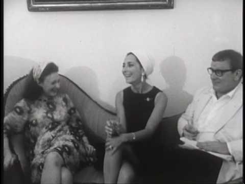 Muriel Spark tells a joke